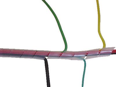 gaine spiralee 6mm blanche atlantique composants gaine. Black Bedroom Furniture Sets. Home Design Ideas